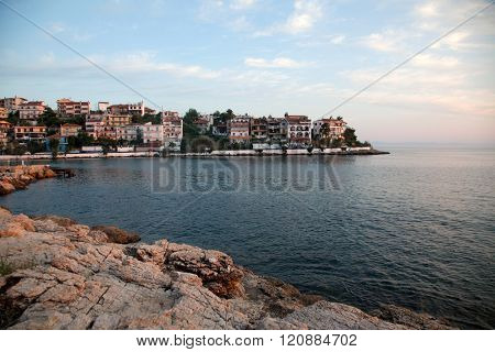 Village of Skala Marion, Thassos island, Greece