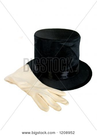 Top Hat And Gloves