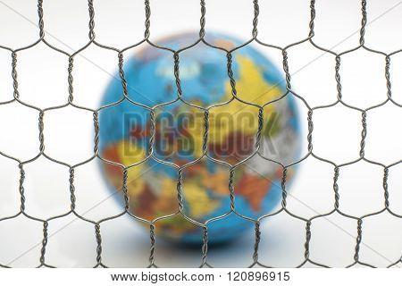 Close Borders Earth