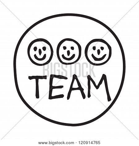Doodle Team icon.
