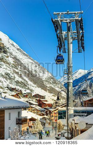 Ski lift Zermatt