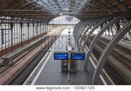 Lubeck Hauptbahnhof Railway Station, Germany