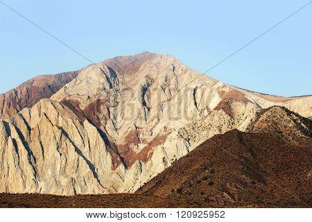 Striking Stone Mountain in Sierra Nevada