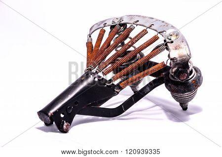 Rusty Bike Saddle