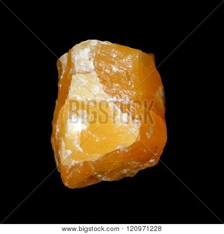 Raw Yellow Calcite