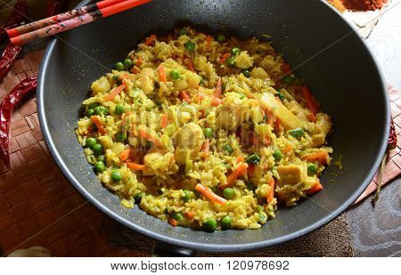Nasi Goreng rice