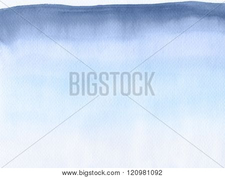 Abstract watercolor hand painted background. Serenity Tint Watercolour Texture Gradient. Pastel Colored Palette. poster