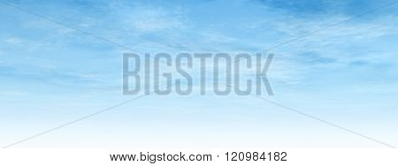 High resolution beautiful blue natural sky with white clouds paradise cloudscape background banner poster