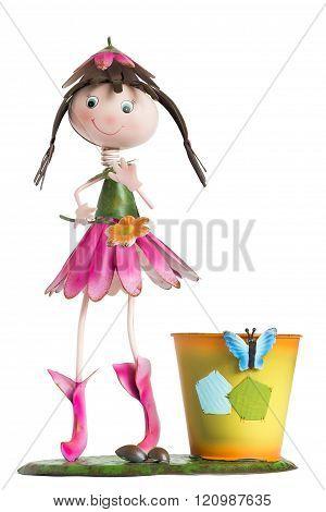 Statuette Of A Little Girl