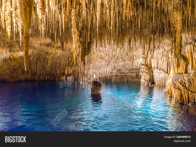 Cuevas Del Drach On Majorca Island Spain Create A Lightbox
