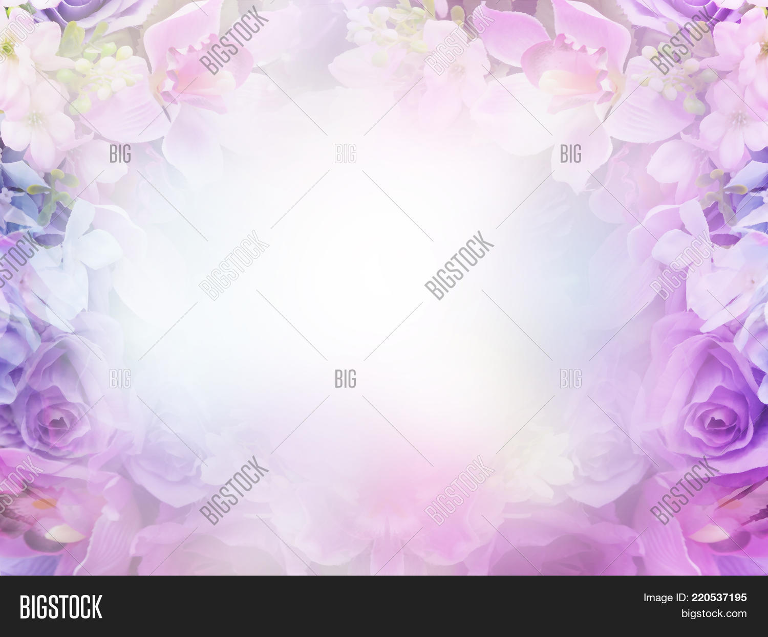 Floral Abstract Pastel Image Photo Free Trial Bigstock