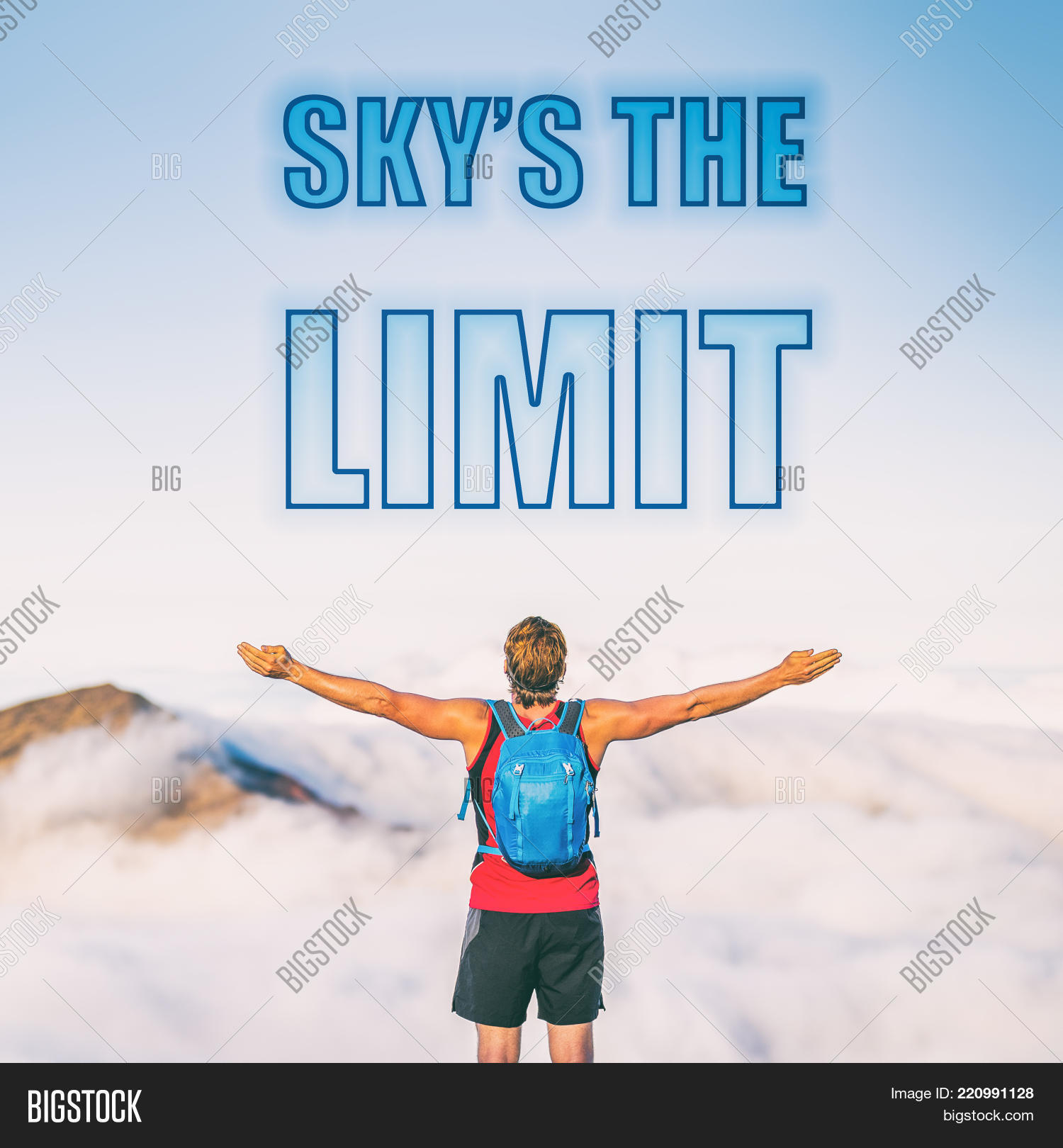 Skys Limit Motivation Image Photo Free Trial Bigstock