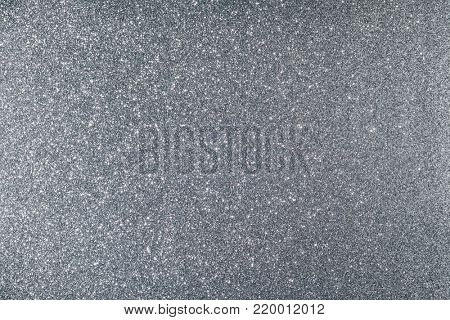 Shiny glimmering silver texture