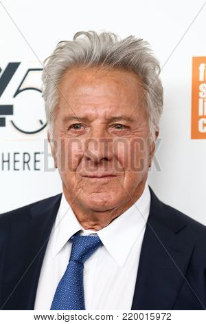 NEW YORK-OCT 1: Actor Dustin Hoffman attends the screening of