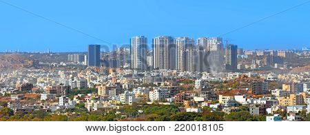 HYDERABAD INDIA -December 16 : Hyderabad is fifth largest contributor city to India's GDP with US $74 billion . On December 16,2016 Hyderabad, India