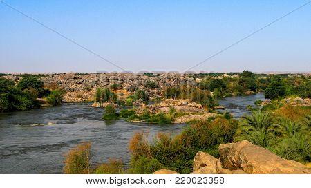 Third Cataract of Nile near Tombos, Sudan