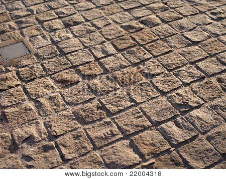 Split Stone Surface Pavement