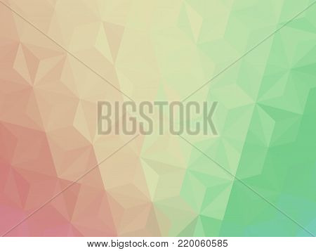 Vector three dimensional special effect. Optical illusion of 3d. Pattern with polygonal tiles. Abstract vector 3d effect. Illusion of gradient effect. EPS10. Low poly pattern. Geometric background