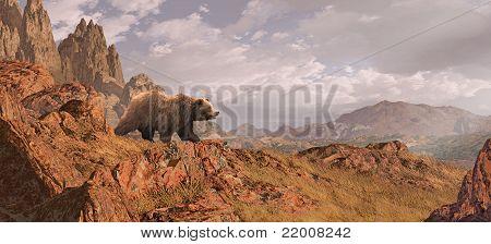 Grizzly Bear Landscape