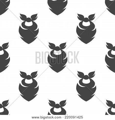 Cowboy bandana seamless pattern. Vector illustration for backgrounds