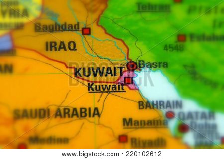 Kuwait, officially the State of Kuwait (Asia).
