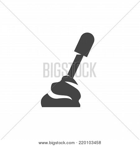 Car transmission icon on white background. Car transmission vector logo illustration isolated sign symbol. Modern pictogram for web graphics