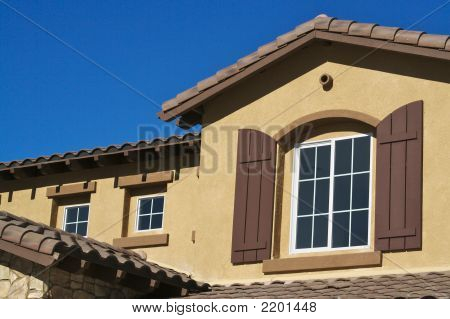 New Stucco Home & Windows