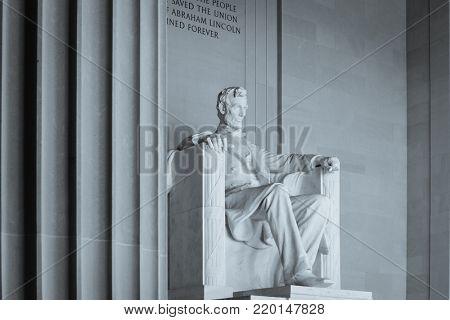 Lincoln Memorial - Washington DC United States