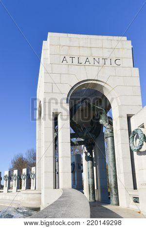 Washington D.C. World War II Memorial