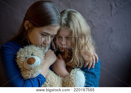 Kids are depressed because of child abuse and domestic violence