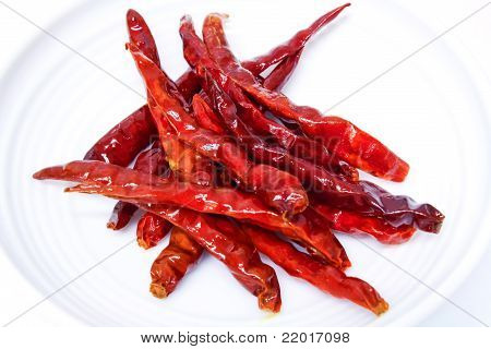 Fried Red Chili