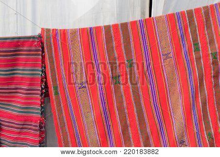 Handmade jute carpets, handicrafts on during Handicraft Fair in Kolkata - the biggest handicrafts fair in Asia.