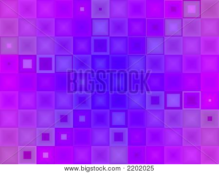 Abstract Purple And Blue Tile Background