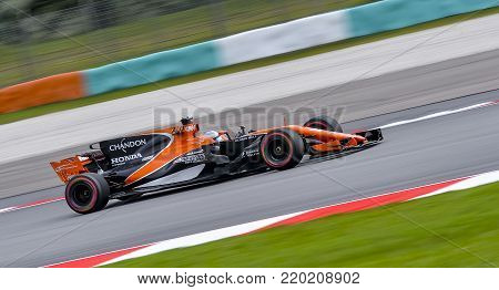 Fernando Alonso Of Mclaren Honda Formula 1 Team