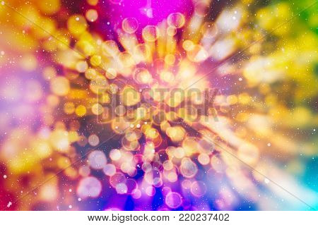 Bokeh with multi colors, Festive lights bokeh background, Defocused bokeh lights, Blurred bokeh, Bokeh light vintage background, Abstract colorful defocused dot, Soft focus