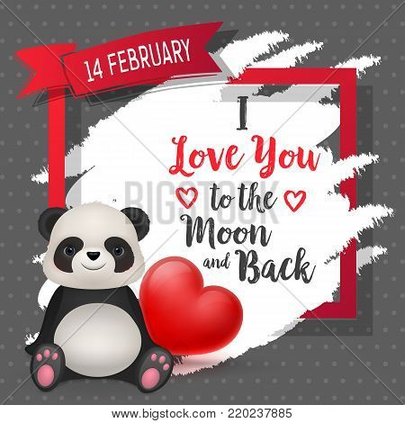 Love You Moon Back, Vector & Photo (Free Trial)   Bigstock