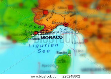 Monaco, officially the Principality of Monaco (selective background)
