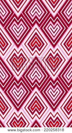 angular chevron shapes in art deco style arranges like scales in a seamless wallpaper