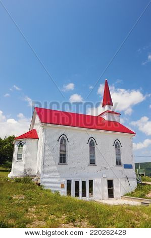 Church in Dartmouth, Nova Scotia. Nova Scotia, Canada.