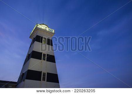 West Point Lighthouse on Prince Edward Island. Prince Edward Island, Canada.
