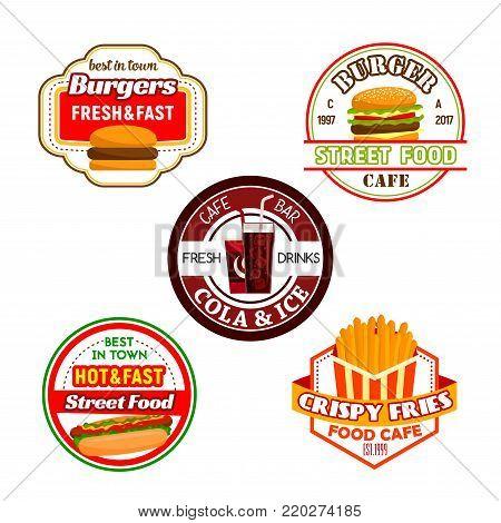Fast Food Burger Vector Photo Free Trial Bigstock