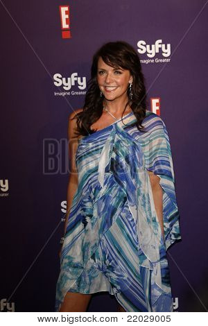 SAN DIEGO - JUL 23: Amanda Tapping at the SyFy/E! Comic-Con Party at Hotel Solamar in San Diego, California on July 23, 2011.