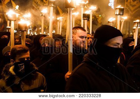 109Th Birth Anniversary Of Stepan Bandera In Kyiv
