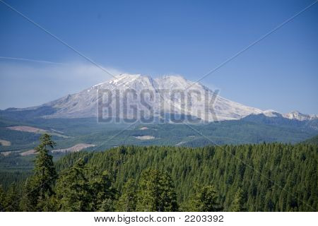 Mt St Helens From The East Side