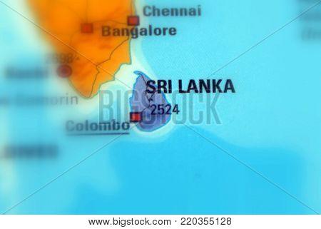 Sri Lanka, officially the Democratic Socialist Republic of Sri Lanka.