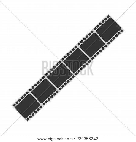 Movie reel symbol. Movie reel icon. Cinema concept. Vesto stock.