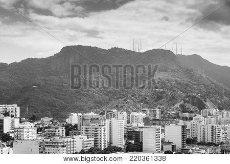Tijuca neighbourhood of Rio de Janeiro, Brazil - a middle-class neighbourhood near downtown