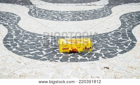 Rio de Janeiro, Brazil - January 2nd, 2018: Illustrative Editorial of Garoto Bon Bon a favorite amongst Brazilians is commonly received as a gift on almost any occasion