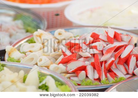 Crabfish And Other Seafood