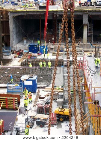 Malmo Construction Site